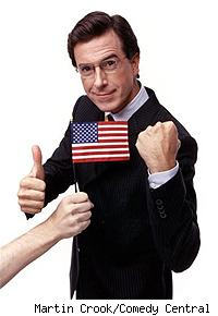 The Leader of The Colbert Nation