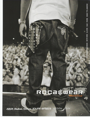 Rocawear, a clothing line.