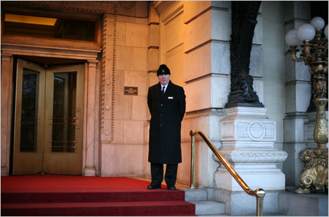 New York Doorman