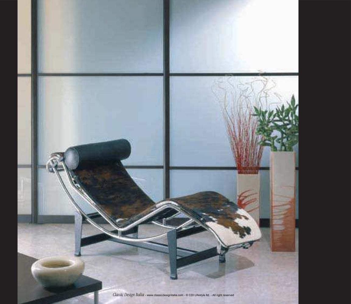 Not Just a Chair, An Art Piece – Le Corbusier Chaise Lounge (LC4 ...