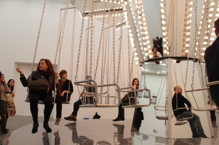 The Mirror Carousel by Carsten Holler