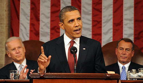 Obama at State of the Union Address 2012